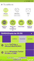Suscripción y desuscripción de una bolsa de MB - Android VIVA APP - Passo 6