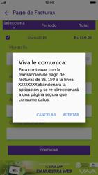Pago de facturas con tarjeta de crédito/débito - iOS VIVA APP - Passo 9