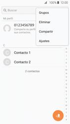 Sincronizar contactos con una cuenta Gmail - Samsung Galaxy J2 Prime (2016) - Passo 7