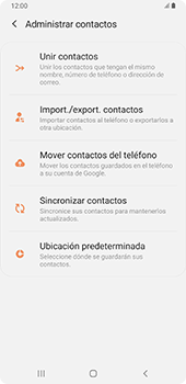 Sincronizar contactos con una cuenta Gmail - Samsung Galaxy A9 (2018) - Passo 8