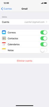 Sincronizar contactos con una cuenta Gmail - Apple iPhone X - Passo 8