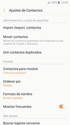 Sincronizar contactos con una cuenta Gmail - Samsung Galaxy A3 2017 (A320) - Passo 6