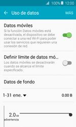Verificar el uso de datos por apps - Samsung Galaxy J1 2016 (J120) - Passo 5