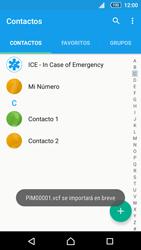 Sincronizar contactos con una cuenta Gmail - Sony Xperia Z5 Compact - Passo 16