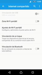 Configurar para compartir el uso de internet - Sony Xperia Z5 Compact - Passo 10
