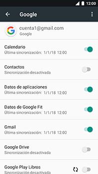 Sincronizar contactos con una cuenta Gmail - Xiaomi Mi A1 - Passo 7