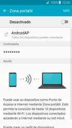Configurar para compartir el uso de internet - Samsung Galaxy J3 2016 (J320) - Passo 5