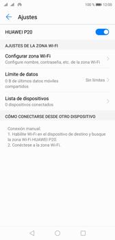 Configurar para compartir el uso de internet - Huawei P20 - Passo 10