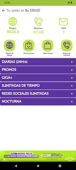 Suscripción y desuscripción de una bolsa de MB - Android VIVA APP - Passo 4
