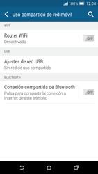 Configurar para compartir el uso de internet - HTC One M9 - Passo 6