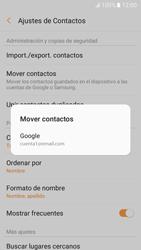 Sincronizar contactos con una cuenta Gmail - Samsung Galaxy A3 2017 (A320) - Passo 7