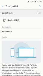 Configurar para compartir el uso de internet - Samsung Galaxy J2 Prime (2016) - Passo 11