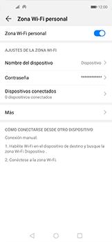 Configurar para compartir el uso de internet - Huawei Nova 5T - Passo 9