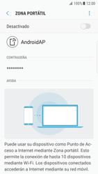 Configurar para compartir el uso de internet - Samsung Galaxy S7 Edge (G935) - Passo 7