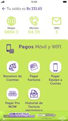 Pago de facturas con tarjeta de crédito/débito - iOS VIVA APP MÓVIL - Passo 4
