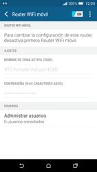 Configurar para compartir el uso de internet - HTC One M9 - Passo 11