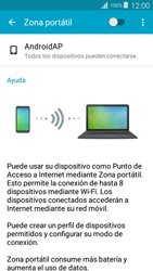 Configurar para compartir el uso de internet - Samsung Grand Prime - Passo 9