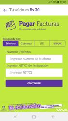 Pago de facturas con tarjeta de crédito/débito - Android VIVA APP - Passo 5