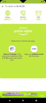 Suscripción de Amazon Prime por VIVA APP - Android VIVA APP - Passo 5