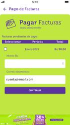 Pago de facturas con tarjeta de crédito/débito - iOS VIVA APP MÓVIL - Passo 7