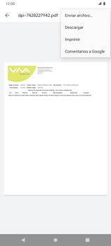 Detalle de Uso de MB y Navegación por APPs - Android VIVA APP MÓVIL - Passo 8