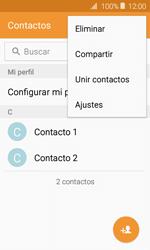 Sincronizar contactos con una cuenta Gmail - Samsung Galaxy J1 2016 (J120) - Passo 7
