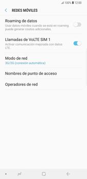 Configurar el equipo para navegar en modo de red LTE - Samsung Galaxy S9+ - Passo 5