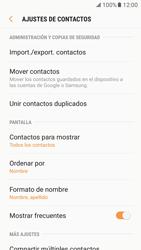 Sincronizar contactos con una cuenta Gmail - Samsung Galaxy S7 (G930) - Passo 6