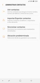 Sincronizar contactos con una cuenta Gmail - Samsung Galaxy S9+ - Passo 12