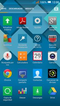 Sincronizar contactos con una cuenta Gmail - Alcatel Pop C9 - Passo 5
