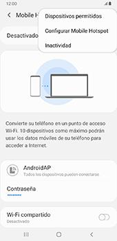 Configurar para compartir el uso de internet - Samsung Galaxy J8 - Passo 8