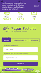 Pago de facturas con tarjeta de crédito/débito - iOS VIVA APP MÓVIL - Passo 6