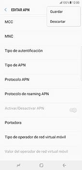 Configurar internet - Samsung Galaxy Note 8 - Passo 16
