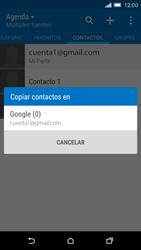 Sincronizar contactos con una cuenta Gmail - HTC One M9 - Passo 10