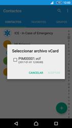 Sincronizar contactos con una cuenta Gmail - Sony Xperia Z5 Compact - Passo 12