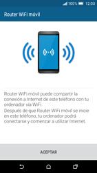 Configurar para compartir el uso de internet - HTC One M9 - Passo 7