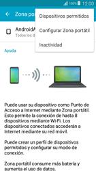 Configurar para compartir el uso de internet - Samsung Grand Prime - Passo 6
