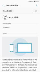 Configurar para compartir el uso de internet - Samsung Galaxy S7 (G930) - Passo 7