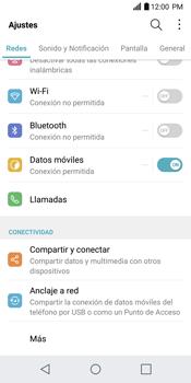 Configurar para compartir el uso de internet - LG G6 - Passo 3