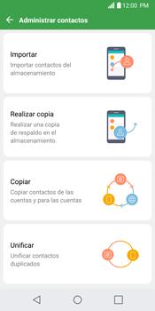 Sincronizar contactos con una cuenta Gmail - LG G6 - Passo 7