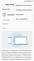 Configurar para compartir el uso de internet - Samsung Galaxy S7 Edge (G935) - Passo 8