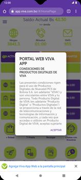 Usa VIVA APP sin que ocupe espacio en tu teléfono - Android VIVA APP MÓVIL - Passo 11
