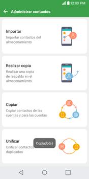 Sincronizar contactos con una cuenta Gmail - LG G6 - Passo 11