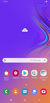 Configurar para compartir el uso de internet - Samsung Galaxy A9 (2018) - Passo 1
