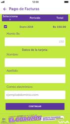 Pago de facturas con tarjeta de crédito/débito - iOS VIVA APP - Passo 8
