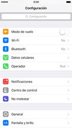 Configurar el equipo para navegar en modo de red LTE - Apple iPhone 6s (iOS9) - Passo 3