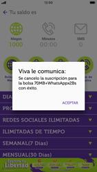 Suscripción y desuscripción de una bolsa de MB - iOS VIVA APP - Passo 15