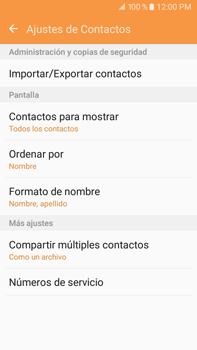 Sincronizar contactos con una cuenta Gmail - Samsung Galaxy J7 2016 (J710) - Passo 10