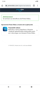 Suscripción de Amazon Prime por VIVA APP - Android VIVA APP - Passo 21