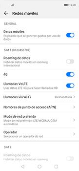 Configurar el equipo para navegar en modo de red LTE - Huawei Nova 5T - Passo 7